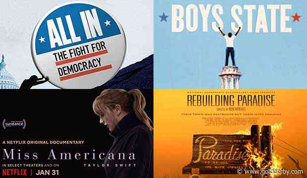 RSVP now for the premiere of our new video series featuring chats with 4 Oscar rivals for Best Documentary: 'All In: The Fight for Democracy,' 'Boys State,' 'Miss Americana' and 'Rebuilding Paradise' [Special Event] - Gold Derby