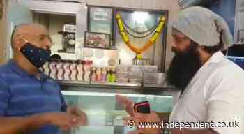Karachi Sweets: Indian bakery forced to cover up name of Pakistani city