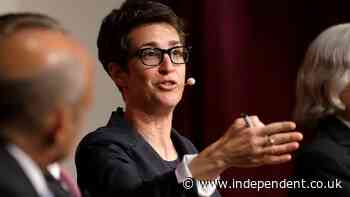 Rachel Maddow pays tribute to partner and 'centre of her life' who 'nearly died' with Covid