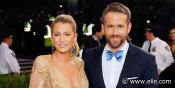 Ryan Reynolds Offers Insight Into His Life With Baby Betty, His 'Favorite' Person to Hang Out With - ELLE.com