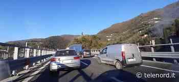 Incidente in A12: coda di sei chilometri tra Nervi e Recco - Telenord