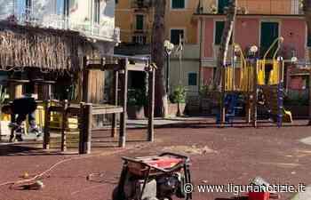 Recco: inizio restyling dell'area giochi di Lungomare Bettolo - Liguria Notizie