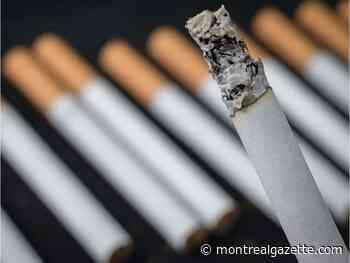 Bad habit: Third arrest for Sherbrooke man over illegal cigarettes
