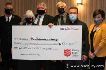 Lougheed Foundation matching local Salvation Army Christmas kettle donations to $50K