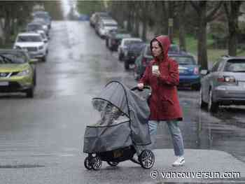 Vancouver Weather: Another wet day for us
