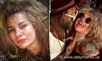 Mummy blogger Constance Hall gets a crown tattooed on her FOREHEAD