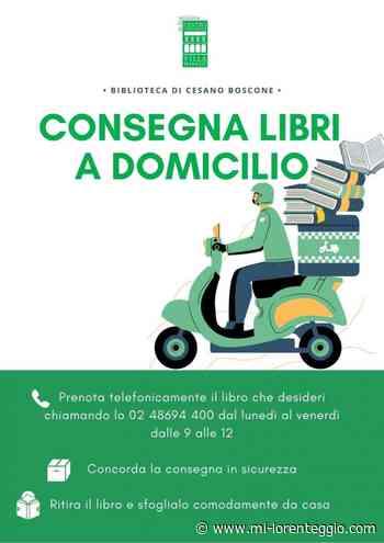 Cesano Boscone - Biblioteca comunale: da lunedì consegna a domicilio - Mi-Lorenteggio