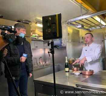 Le telecamere di Mediaset a Ventimiglia per uno speciale dedicato allo chef Diego Pani - SanremoNews.it