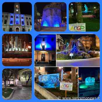 Da Ventimiglia a Imperia i comuni si illuminano di blu per la Giornata Mondiale del Diabete - SanremoNews.it