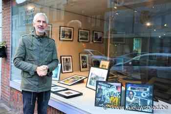 Fotograaf Hans Blankaert exposeert in etalage van Schoenmakerij Dumon