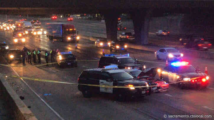 Shooting Along I-5 In Sacramento Leaves 1 Person Dead, CHP Says