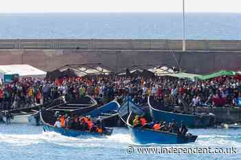 Thirteen month old girl who died on migrant boat to Canary Islands gets proper grave