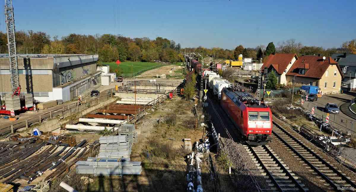 Tunnelbauarbeiten bei Rastatt sollen weitergehen - Sperrungen auf der Rheintalbahn - BNN - Badische Neueste Nachrichten
