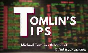 11/20: Fantasy Six Pack- Tomlin's Tips: 2020 NFL/NCAA Football Week 11 Bets