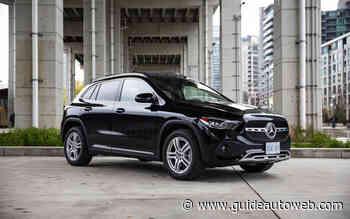 Mercedes-Benz GLA 2021 : évolution VUS