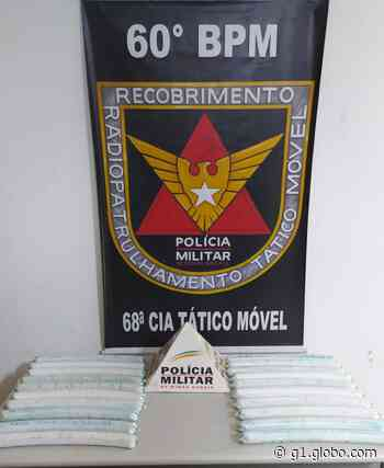 Após denúncia, dupla é detida com explosivos em Pitangui - G1