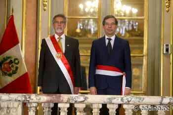 Peru: Jaime Galvez Delgado sworn in as Energy and Mines Minister - Andina - Agencia Peruana de Noticias