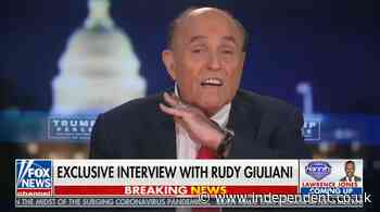 Rudy Giuliani suggests cutting heads of Democrats in Fox interview after disastrous press conference