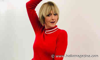 Jane Moore's scarlet dress is her most bold choice to date
