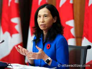 COVID-19: Canada is 'not on a good trajectory,' Tam says; 77 new cases in Ottawa, 1,418 in Ontario