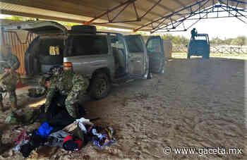 Hallan en San Fernando una GMC Yukon con 'cuernos' y balas abandonada por 'malosos' - Gaceta Tamaulipas
