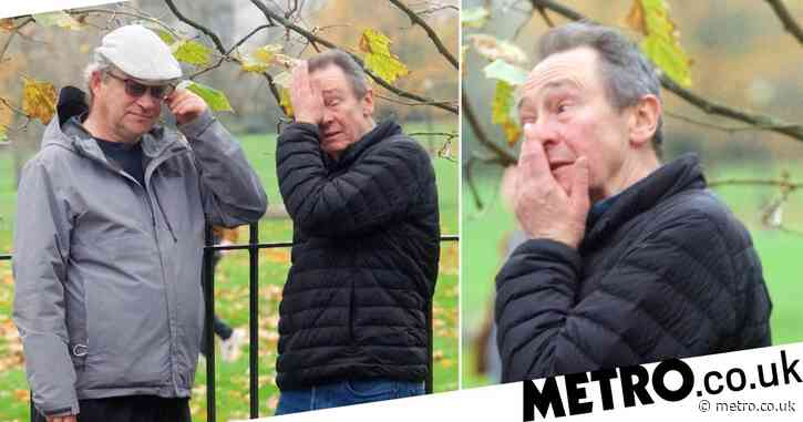Harry Enfield and Paul Whitehouse in tears as they finally share emotional reunion