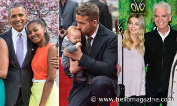 Celebrity 'girl dads': the stars who are outnumbered at home and love it!