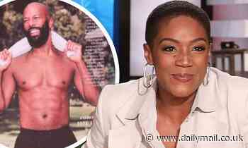 Tiffany Haddish jokes she 'helped' beau Common 'with those abs' for People Sexiest Men Alive