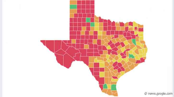 Dozens of Texas counties at COVID-19 'tipping point' ahead of Thanksgiving, data show - Fort Worth Star-Telegram