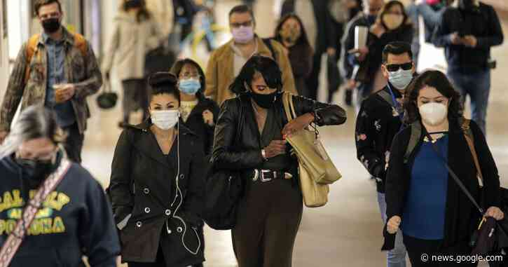 Failed COVID-19 mask trial shows why more masks are needed - Los Angeles Times
