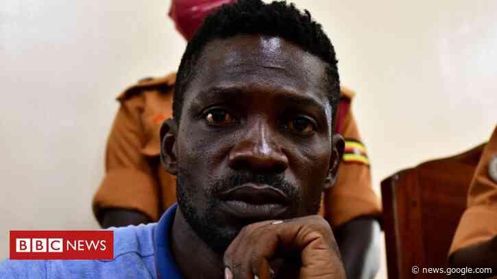 Bobi Wine: Ugandan politician charged for breaking coronavirus rules - BBC News
