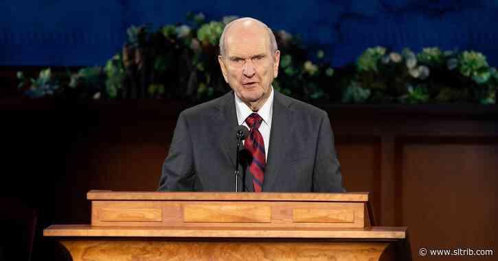 LDS Church President Russell Nelson prescribes 'healing power of gratitude' amid pandemic