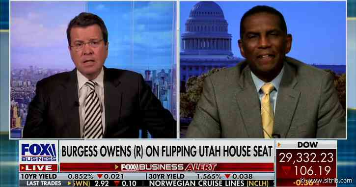 Burgess Owens says Trump will 'do the right thing,' after an investigation