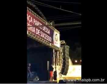 MaisPB • Homem morre eletrocutado durante festa em Natuba - MaisPB