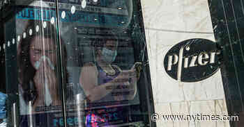 Pfizer Applies for Emergency F.D.A. Approval for Covid-19 Vaccine