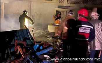 Pérdida total mercado de Tequila; indagan si provocaron incendio - Diario El Mundo de Córdoba