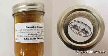 Pumpkin pie jam brand recalled in case of bacteria causing botulism