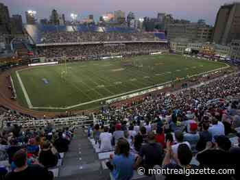 Alouettes' 2021 CFL home opener slated for June 11 against Bombers