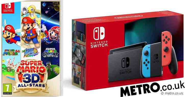 Nintendo Switch Black Friday 2020 deals have Mario and Minecraft for £310