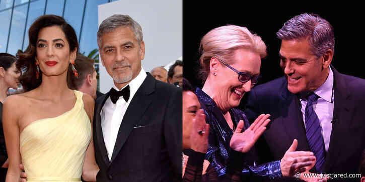 Amal Clooney Jokes That She & Meryl Streep Were Both Married to George Clooney