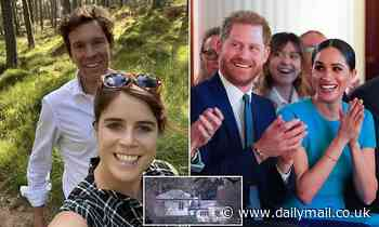 Meghan Markle and Prince Harry 'hand the keys of Frogmore Cottage to pregnant Princess Eugenie'