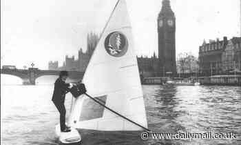 How Sir Alex Allan once windsurfed down the Thames to Parliament in a suit and bowler hat