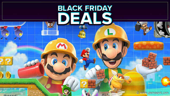 Super Mario Maker 2 (Switch) Black Friday Deal Drops It To $30