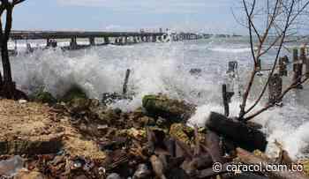 Por mar de leva cierran temporalmente las playas de San Antero, Córdoba - Caracol Radio