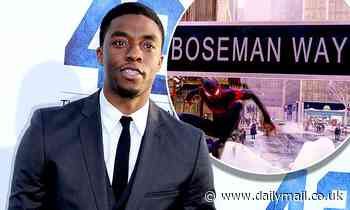 Chadwick Boseman honored by street name in Spider-Man: Miles Morales