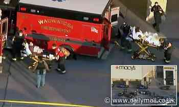 Wisconsin mall shooting: Seven adults and one teenager shot and injured