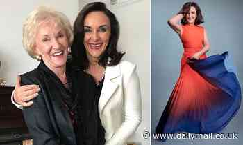 If you think I'm a tough judge, you should meet my mum! SHIRLEY BALLAS mother still weighs her