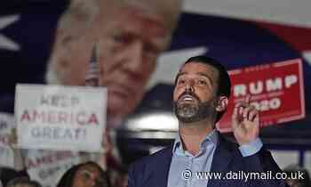 Donald Trump Jr tests positive for coronavirus and is in quarantine