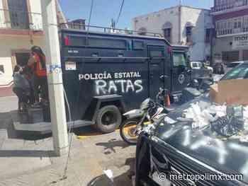 Solo seis detenidos por actos vandálicos contra Policía Estatal en Teocaltiche - MetropoliMx
