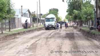 La calle Payró de Los Polvorines renueva su asfalto - Que Pasa Web